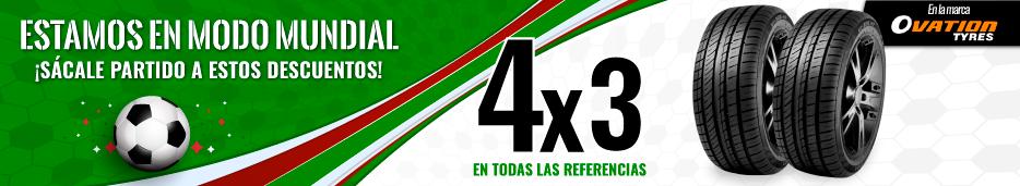 Llantas Promocion lleve 4 pague 3
