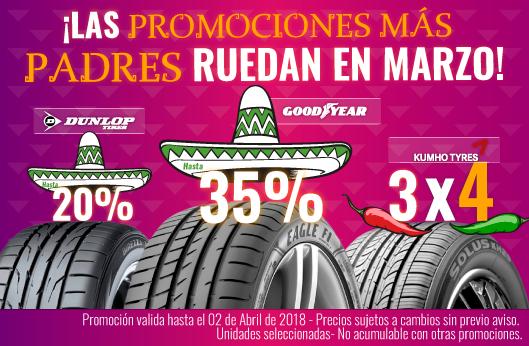 Llantas Goodyear Dunlop Kumho 3x4 35%OFF   llantas baratas   llantas para coche   coches   las mejores llantas   llantas deportivas   llantas de alto rendimiento